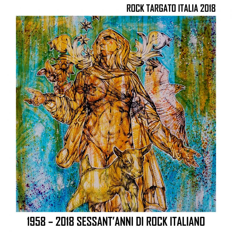 "COMPILATION ROCK TARGATO ITALIA 2018 ""1958 – 2018 Sessant'anni di rock Italiano"""