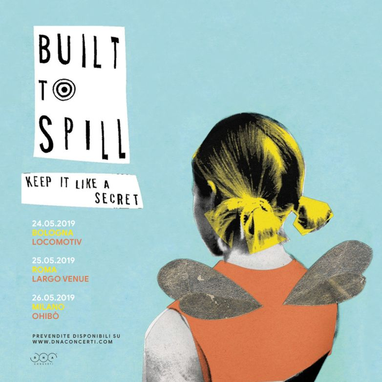 DNA concerti: BUILT TO SPILL