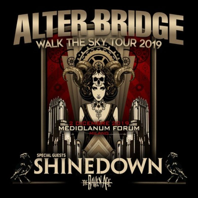 ALTER BRIDGE: il tour del nuovo album e la data italiana