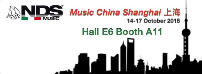 NDS Music & S.O.S. Save Our Souls portano il Made in Italy a... ...Shanghai!