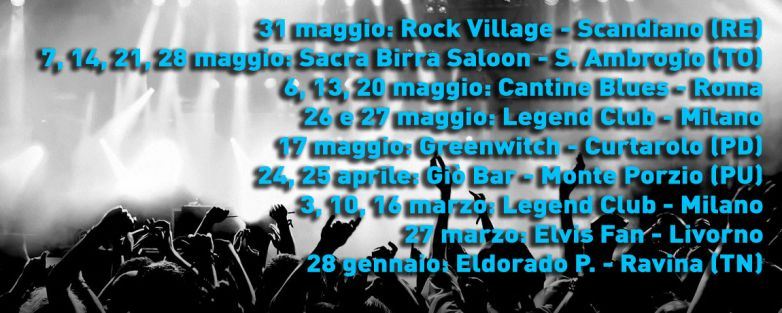 Rock Targato Italia Tour 2015