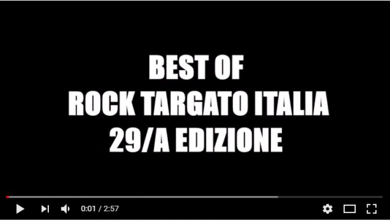 Best Of Rock Targato Italia 29/a edizione