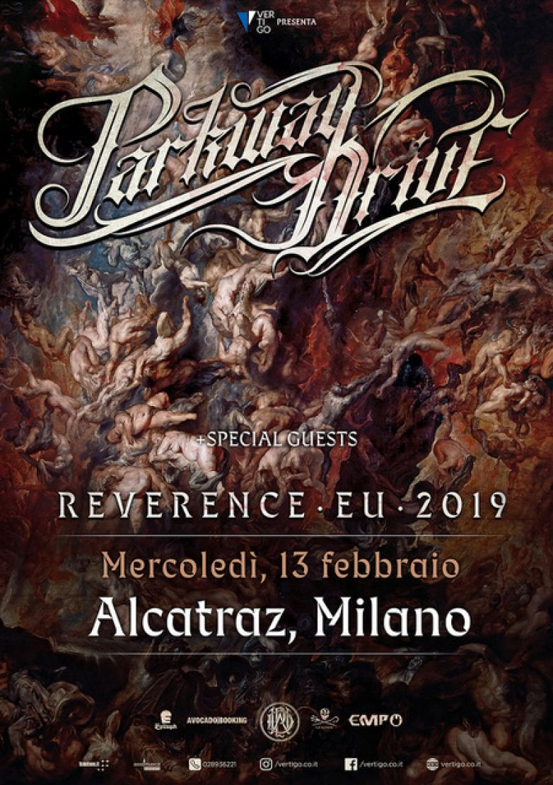 PARKWAY DRIVE: in concerto a Milano!