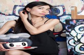 Con la mostra personale dedicata alla pittrice e scultrice Tomoko Nagao