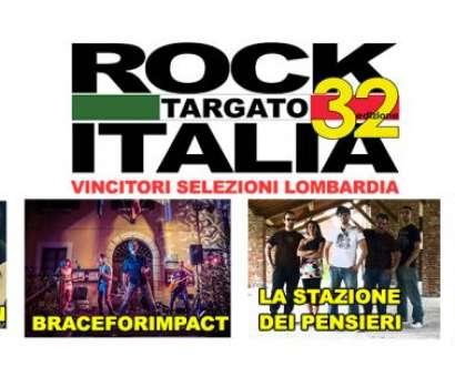 ROCK TARGATO ITALIA area LOMBARDIA al LegendClub Milano