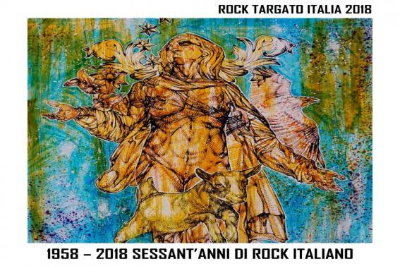 """COMPILATION ROCK TARGATO ITALIA 2018 """"1958 – 2018 Sessant'anni di rock Italiano"""""""