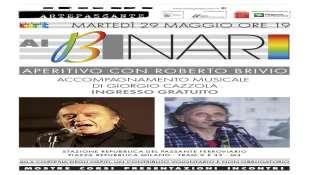 Roberto Brivio il 29 maggio allo Spazio Orsolart di Milano