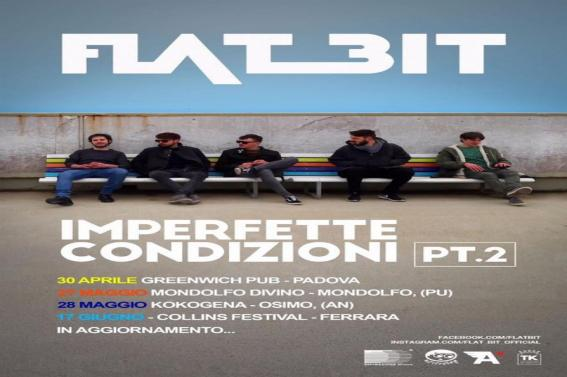 """Dopo il successo di """"ATTACCHI DI NORMALITÁ"""", i FLAT BIT sono pronti per un nuovo tour"""