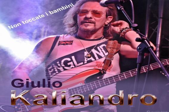 """Da oggi in tutti i  WEBSTORE  """"NON TOCCATE I BAMBINI""""  Il nuovo album di  GIULIO KALIANDRO"""