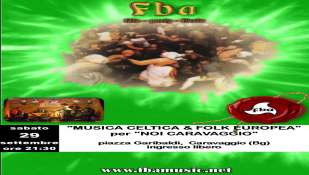 Concerto grosso della *F.B.A.* (Fucina Bucolica Artistica)