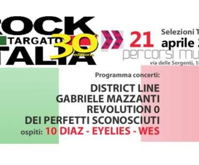 Rock Targato Italia 30/a edizione - Selezioni Area Toscana
