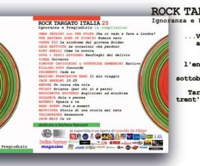 Rock Targato Italia 25 - Ignoranza e Pregiudizio - La Compilation