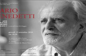 Fondazione Mudima l'inaugurazione della personale di Mario Benedetti