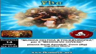 ecco il prossimo concerto grosso della *F.B.A.* (Fucina Bucolica Artistica):