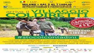 Dal 5 al 7 luglio a Milano il villaggio contadino della Coldiretti