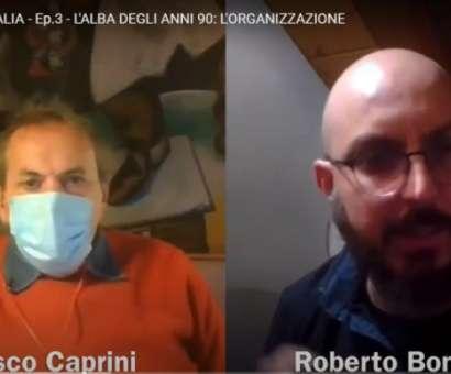 Intervista/videodialogo tra Francesco Caprini (Promoter/Rock Targato Italia) e Roberto Bonfanti (artista scrittore)