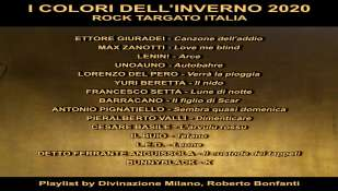 "Playlist  ""I COLORI DELL'INVERNO 2020""     La musica indipendente, by Rock Targato Italia"