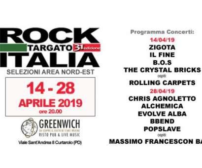 Selezioni Area Nord Est - 31/a edizione Rock Targato Italia