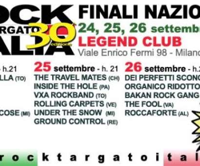BAKAN ROCK GANG  a Rock Targato Italia - Milano 26 settembre