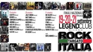 Ultimissime sulle finali di Rock Targato Italia @ Legend Club