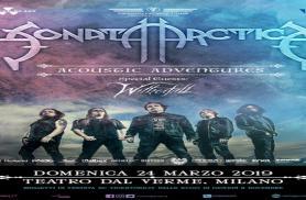 SONATA ARCTICA: la data italiana del tour acustico