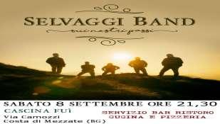 8 settembre concerto della Selvaggi Band