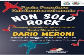 STEFANO FERRO a Non solo Rock - 6° Memorial Dario Meroni