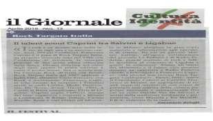 La forza del Rock. Francesco Caprini, Ligabue e Matteo Salvini