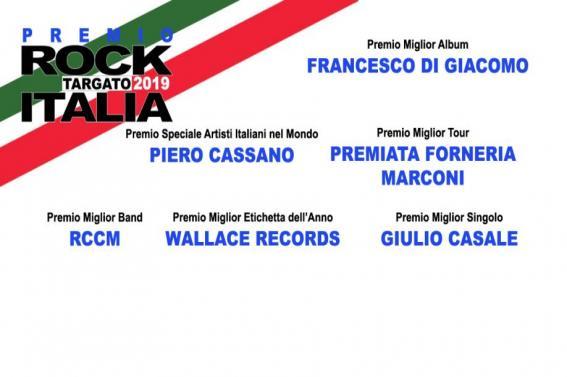 Premi Rock Targato Italia 2019