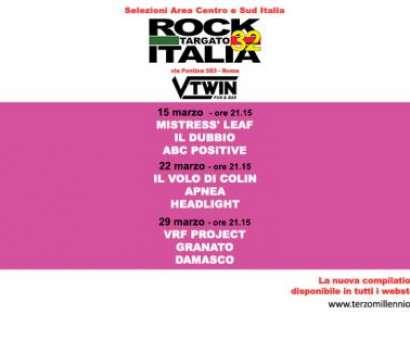 Selezioni Area Centro e Sud Italia - Rock Targato Italia 32/a edizione