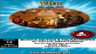 "*F.B.A.* al XIX ""CELTIC DAYS"" FESTIVAL"