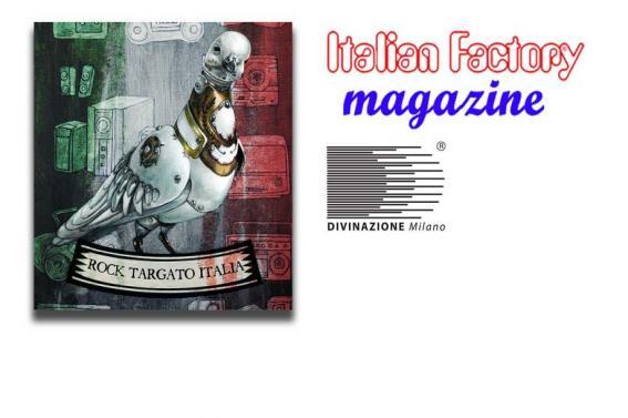 ROCK TARGATO ITALIA COMPILATION, la copertina è dell'artista DESIDERIO
