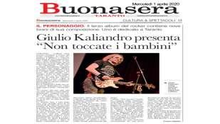 Il Personaggio: Giulio Kaliandro su Taranto Buonasera, intervista di Franco Gigante