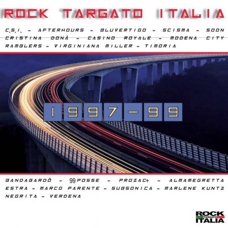 E' disponibile la nuova compilation  ROCK TARGATO ITALIA 1997 -1999
