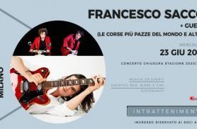 CIRCOLO ARCI BELLEZZA: IL LIVE DI FRANCESCO SACCO