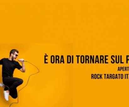 È ora di tornare sul palco!! nuova edizione di ROCK TARGATO ITALIA 2021